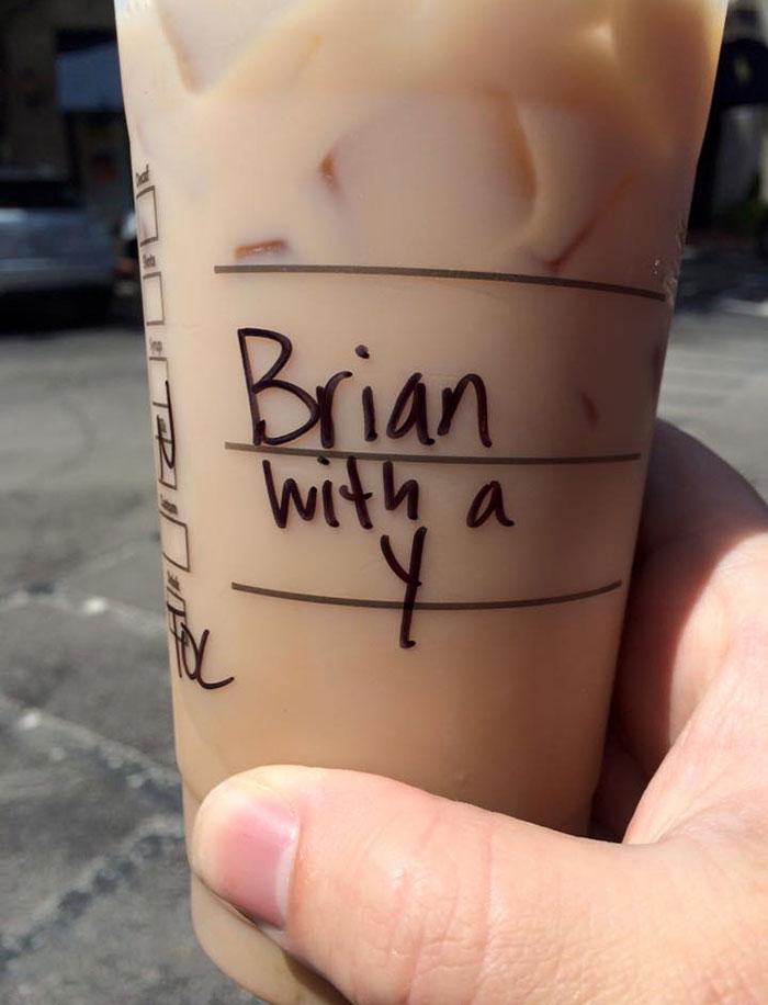 brian with a y barista