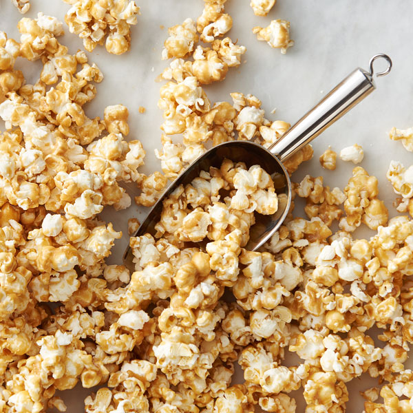 caramel popcorn with maple me crazy butter