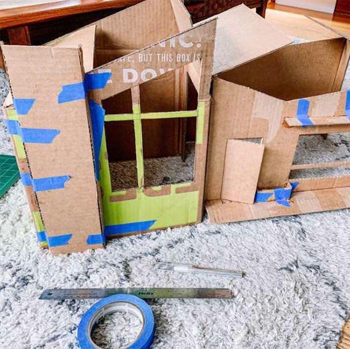 cardboard cat house gentry sanders