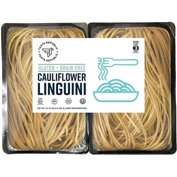 cauliflower linguini pasta