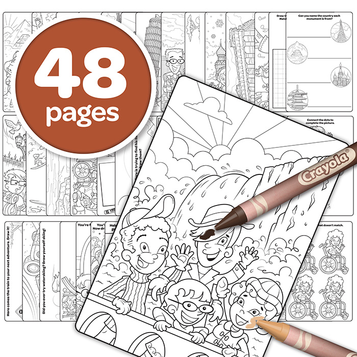 colors of the world coloring book