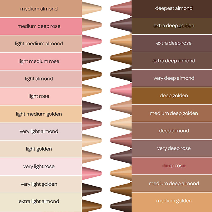 colors of the world side panel color reference