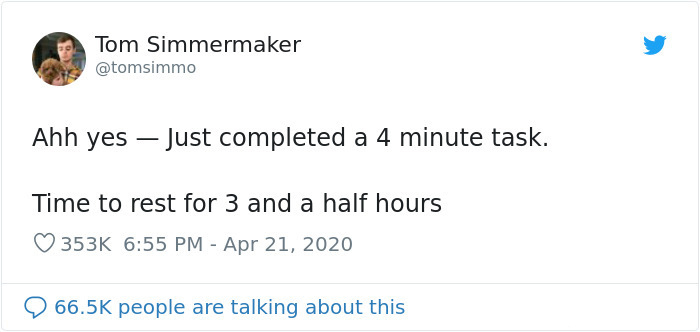 completed a task things everyone doesn't talk about