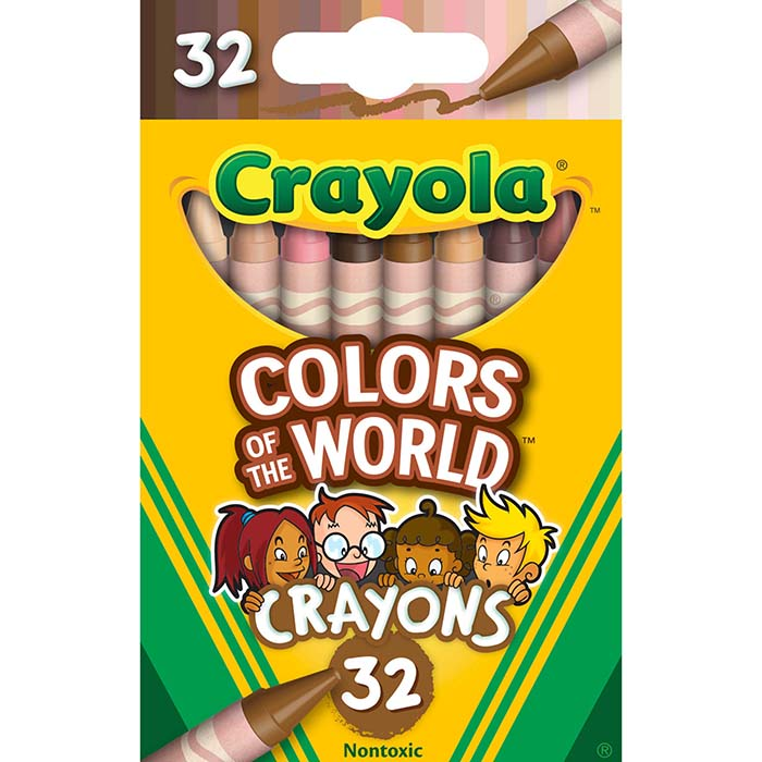 crayola colors of the wold 32-count