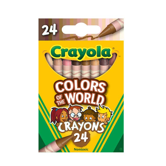 crayola colors of the world 24-count
