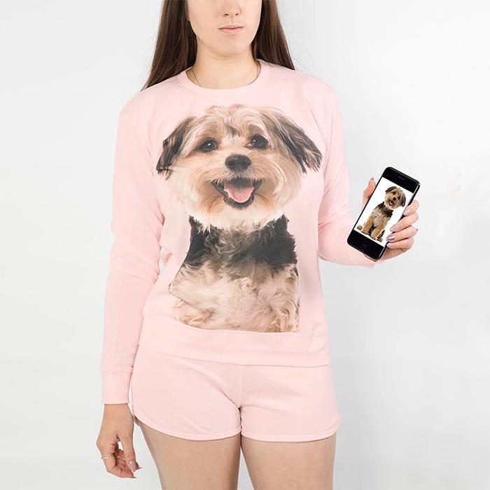 dogsy custom loungewear set