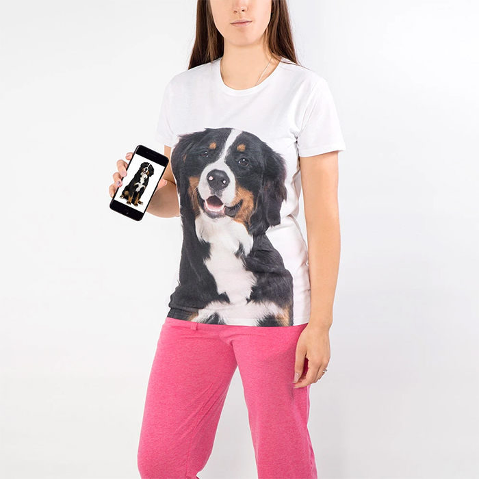 dogsy personalized ladies shirt