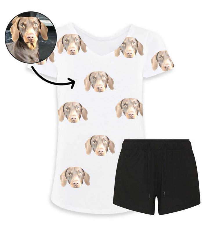 dogsy personalized pyjama set