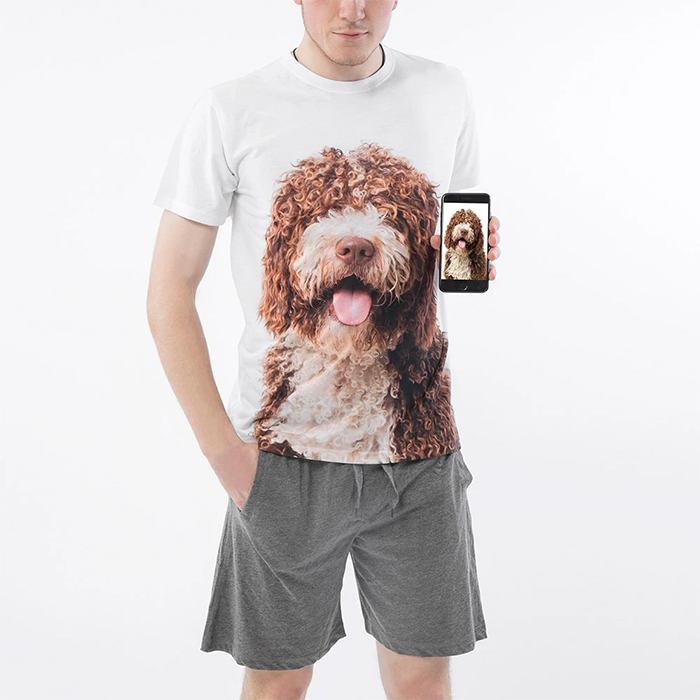 dogsy personalized shirt men
