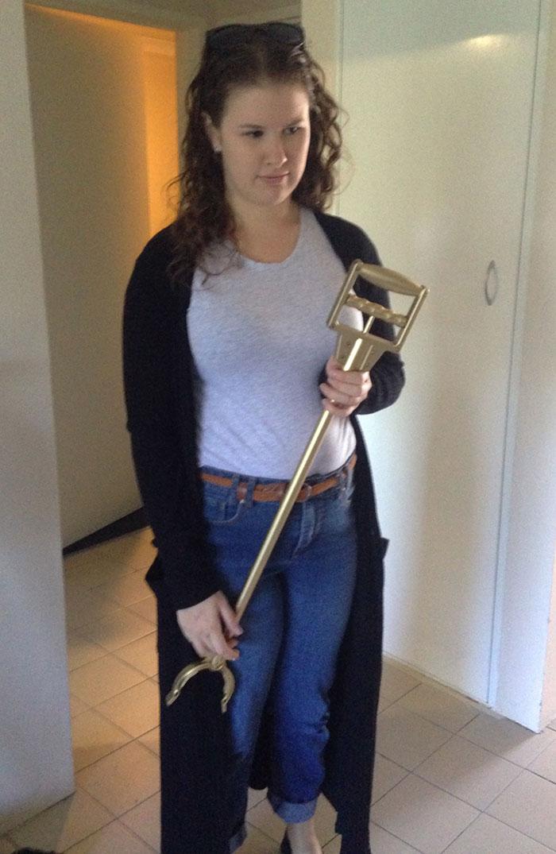 girlfriend got a golden retriever for birthday
