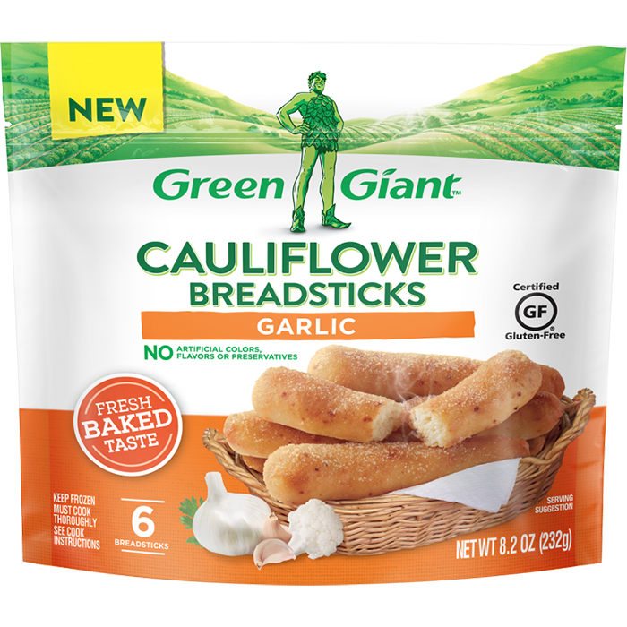 green giant cauliflower breadsticks garlic