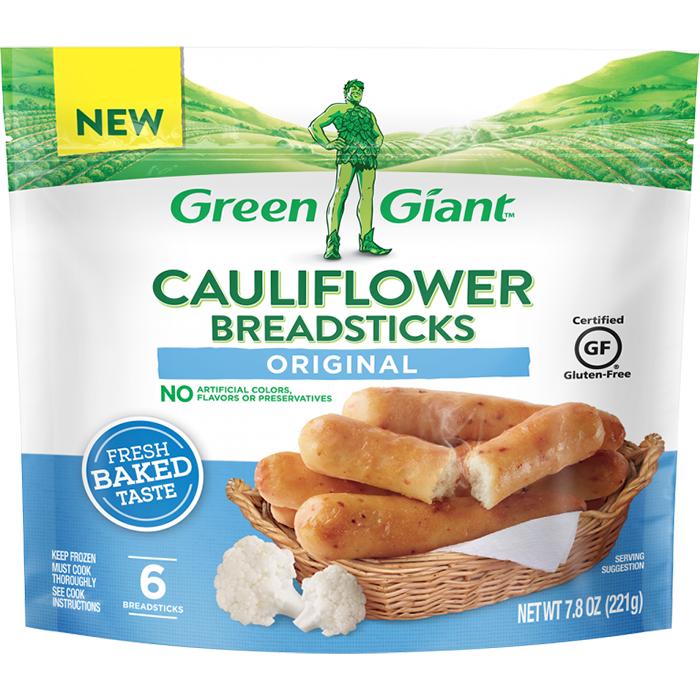 green giant cauliflower breadsticks original