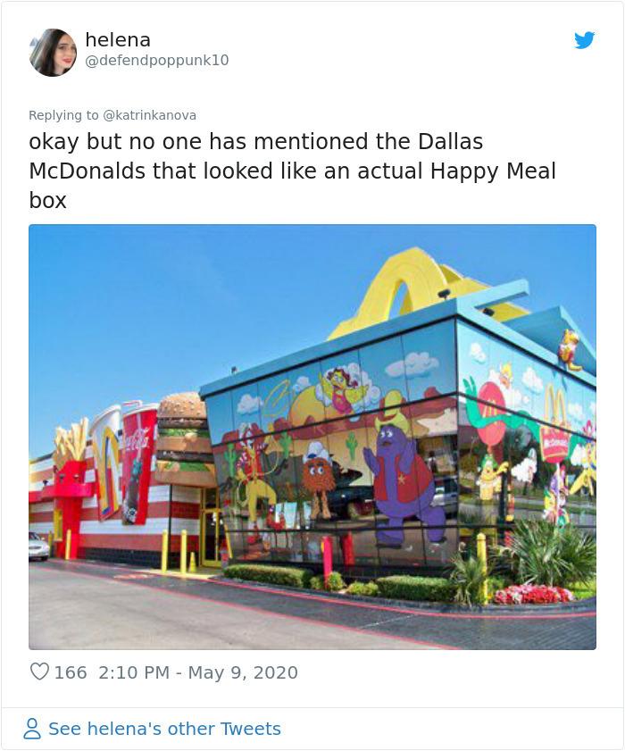 happy meal box restaurant design dallas