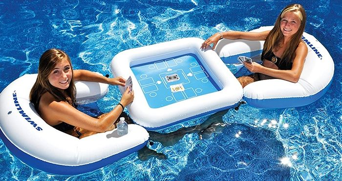 inflatable game table