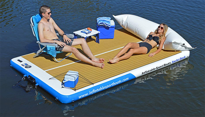 inflatable patio deck 10-foot