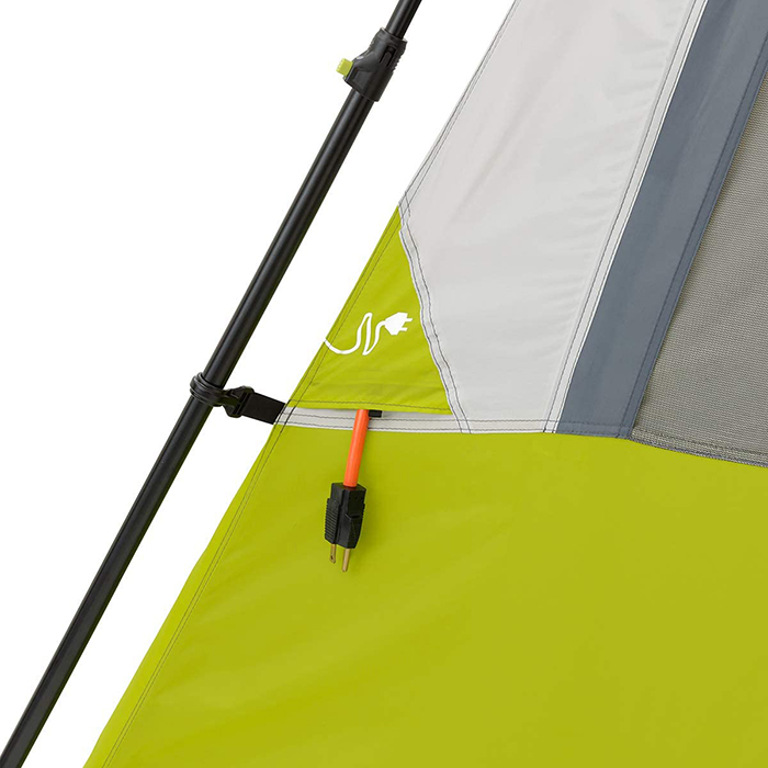instant cabin tent air vent power source