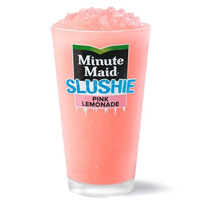 mcdonald's minute maid slushie pink lemonade