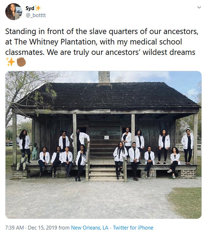 medical school students slave quarters