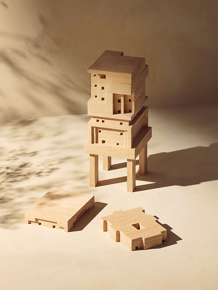 multi-storey beehouse
