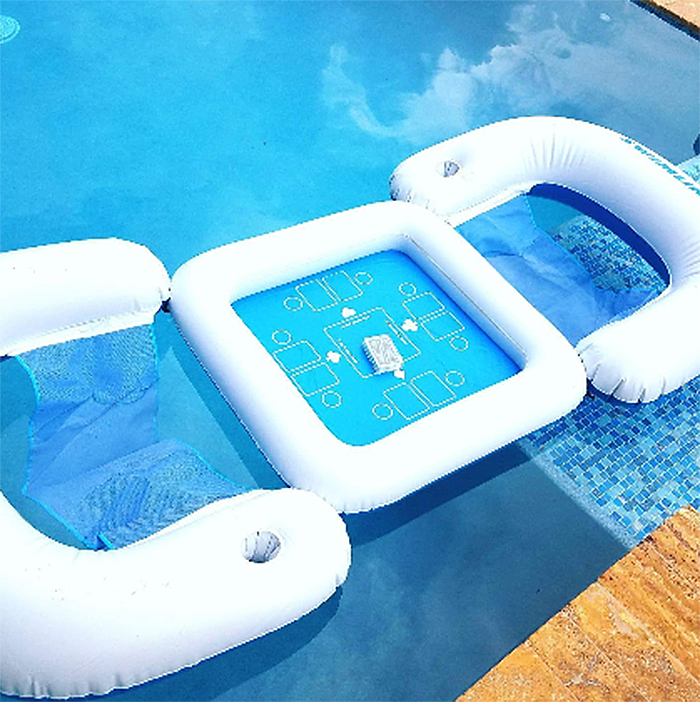 pool float game station