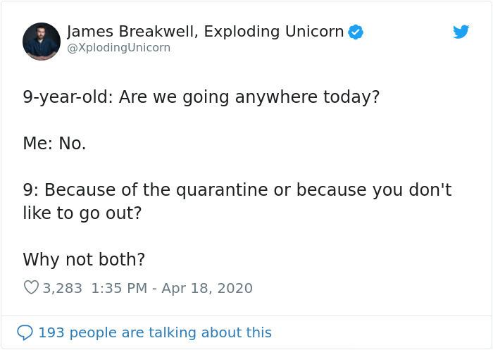 quarantine life cannot go out