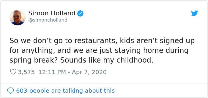 quarantine life childhood