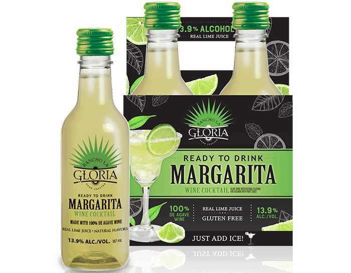 rancho la gloria lime margarita in small bottles
