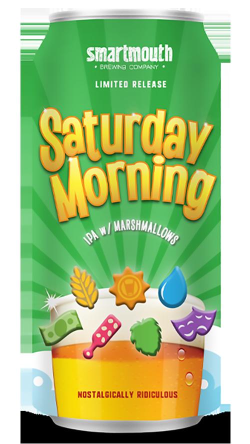 saturday morning ipa with marshmallows