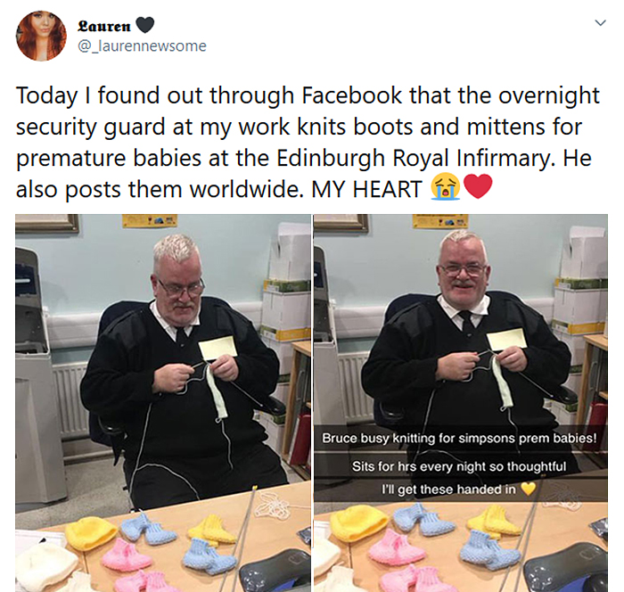 securty guard knits boots for premature babies