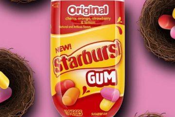 starburst gum
