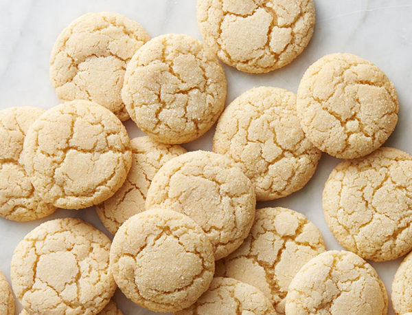 sugar cookies baked with maple me crazy butter