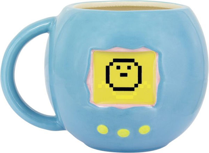 tamagotchi mug with heat change effect