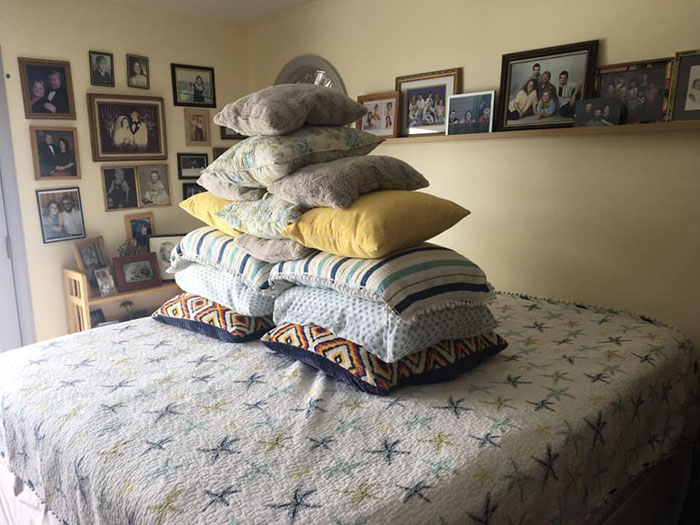 the finale bed arrangement