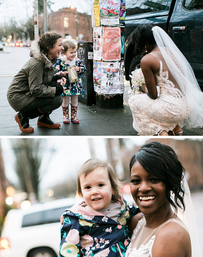 wholesome positive stories wedding bride