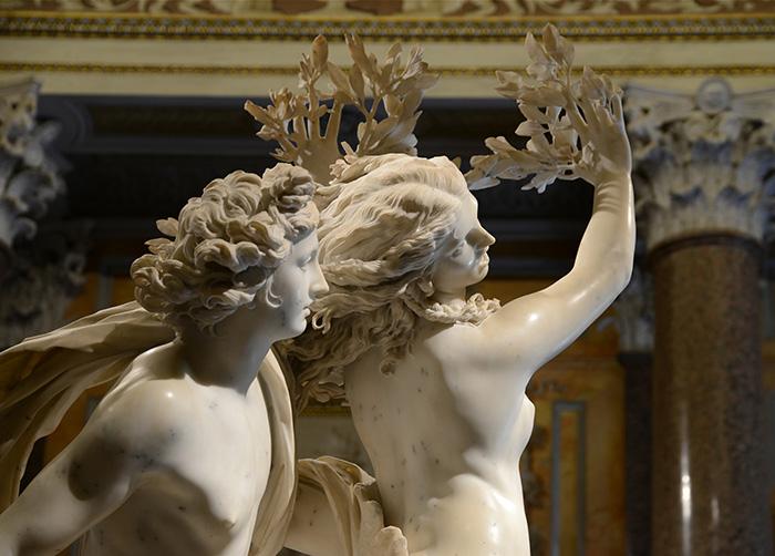 Apollo and Daphne Sculpture by Gian Lorenzo Bernini