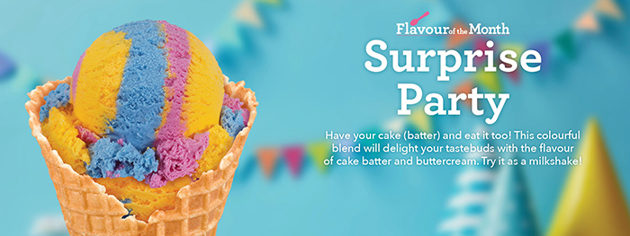 Baskin-Robbins Flavor of the Month June 2020 Surprise Party