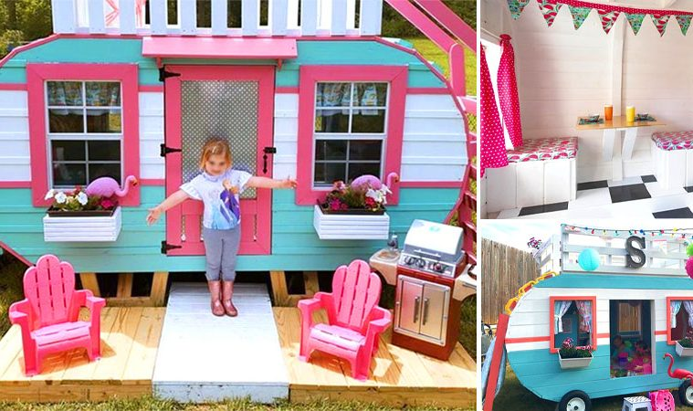 Camper playhouse