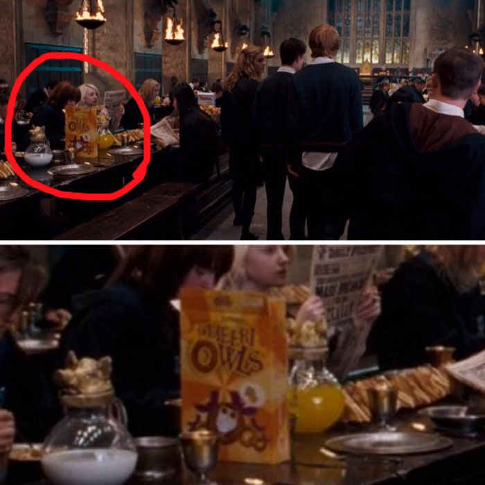 CheeriOwls Cereal in Harry Potter and the Order of the Phoenix