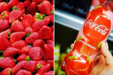 Coca-Cola Strawberry flavor