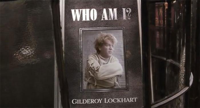 Gilderoy Lockhart Post-credit Scene in Chamber of Secrets