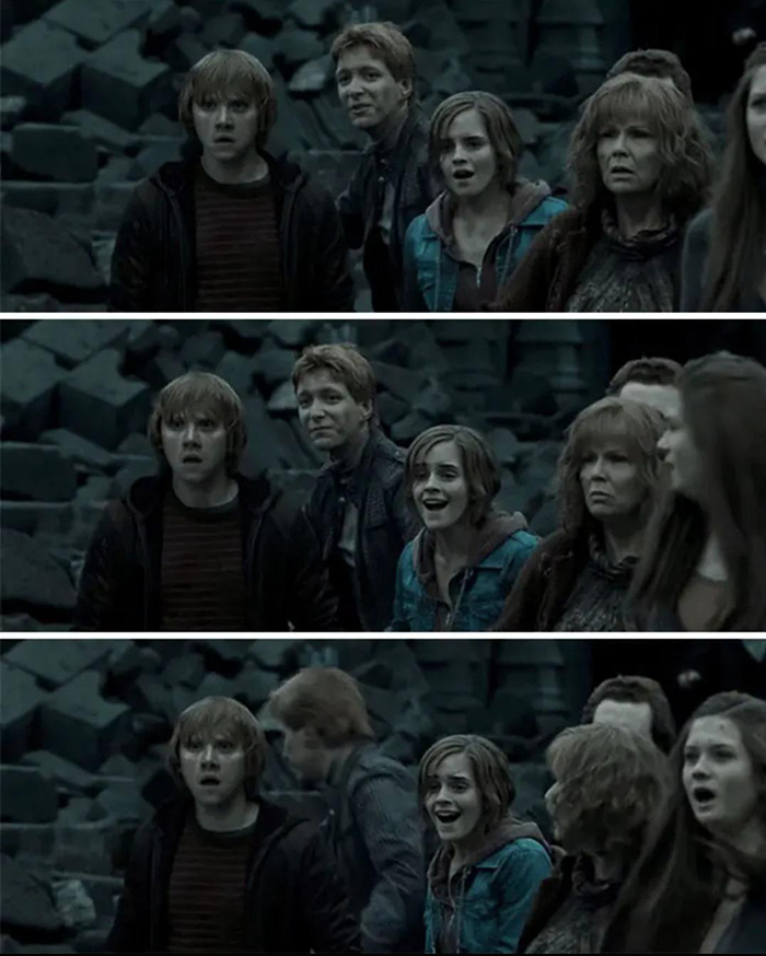 Harry Potter and the Deathly Hallows Part 2 Scene