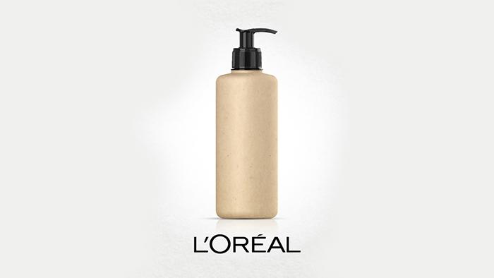 Loreal Plant-based Bottle Packaging