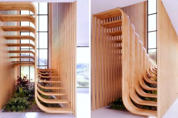 Minimalistic staircase