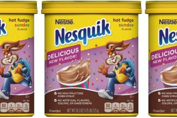 Nesquik Hot Fudge Sundae Flavor