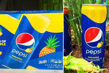 Pepsi pineapple