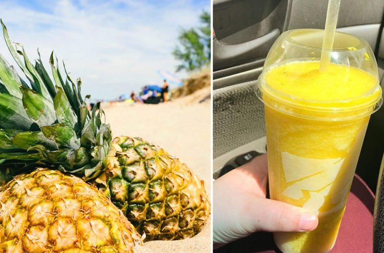 Pineapple freeze