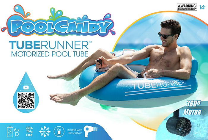 PoolCandy Tube Runner Motorized Pool Tubes