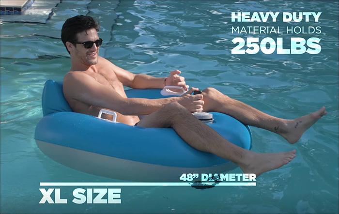 PoolCandy Tube Runner Weight Capacity