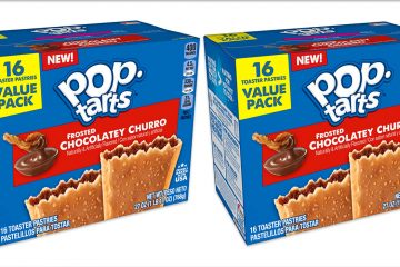 Pop-Tarts Frosted Chocolatey Churro