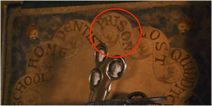 Prison Option in Molly Weasleys Magical Clock